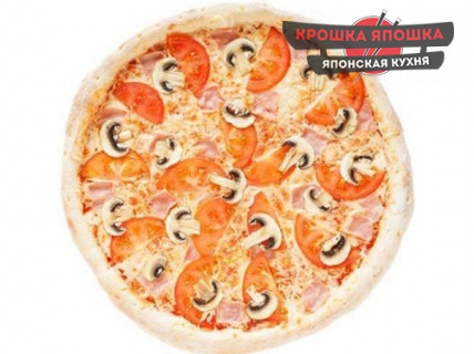 Пицца Курица Грибы 450гр.